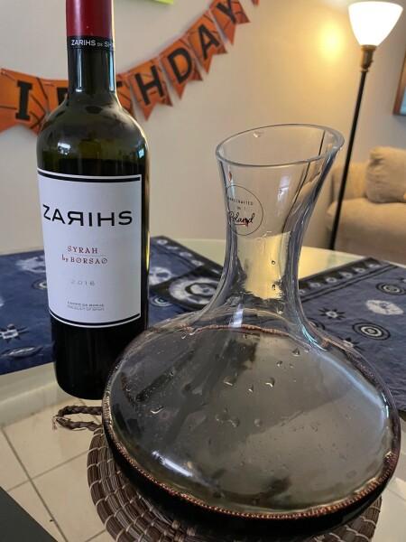top 100 wine of 2020; Zarihs of Spain